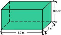 Volumen o capacidad de recipientes for Cuantos litros de agua caben en una piscina